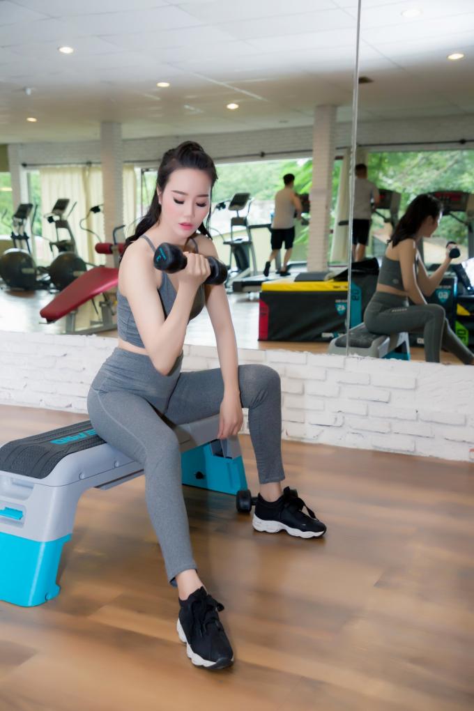 Dương Yến Phi tự tin trước đêm chung kết Miss Beauty Global 2018.