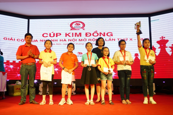 Cúp Kim Đồng: 10 Năm Đồng Hành Với Thế Hệ Tương Lai Của Cờ Vua Việt Nam