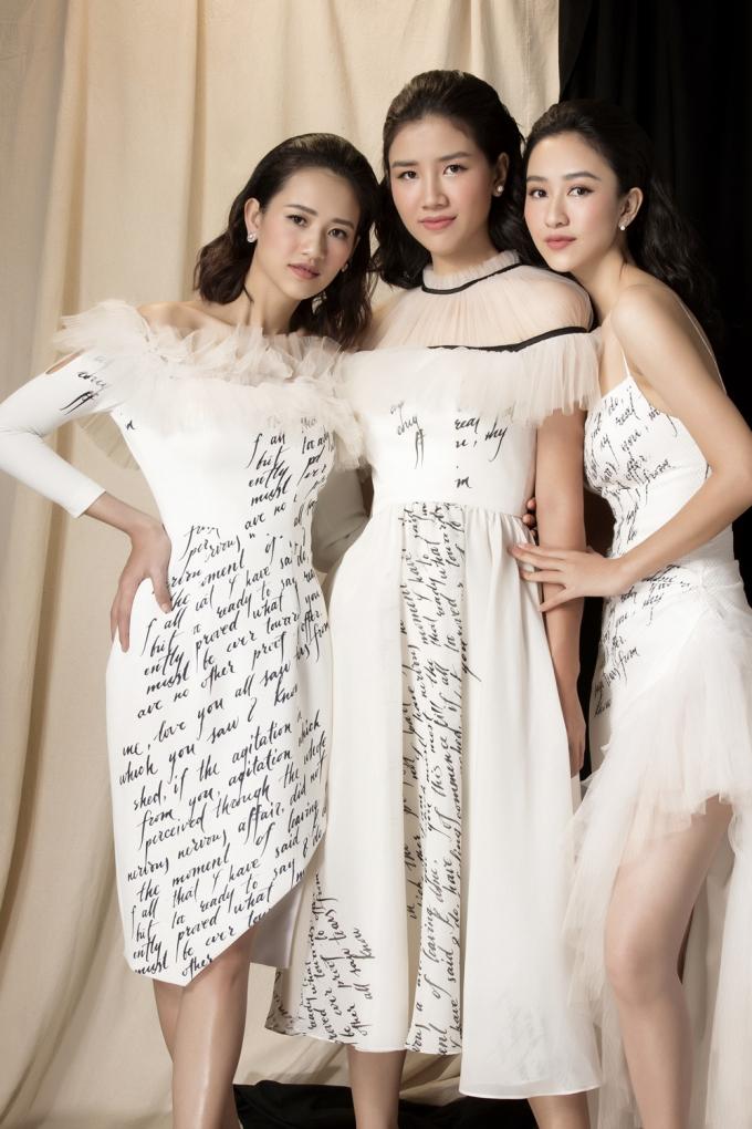 Hà Thu chia sẻ Hà Trang là cô gái chính chắn và nữ tính nhất nhà, luôn biết quán xuyến mọi công việc trong gia đình và là niềm tự hào của cô.