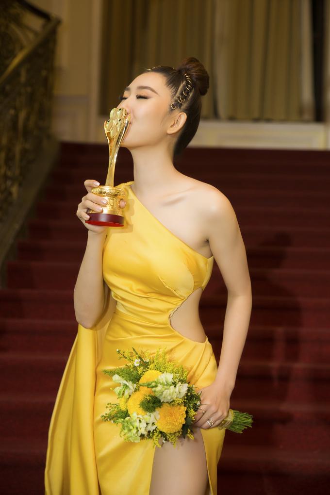 Hiện tại, Thuý Ngân cũng xuất hiện trên truyền hình với vai diễn mới trong sitcom