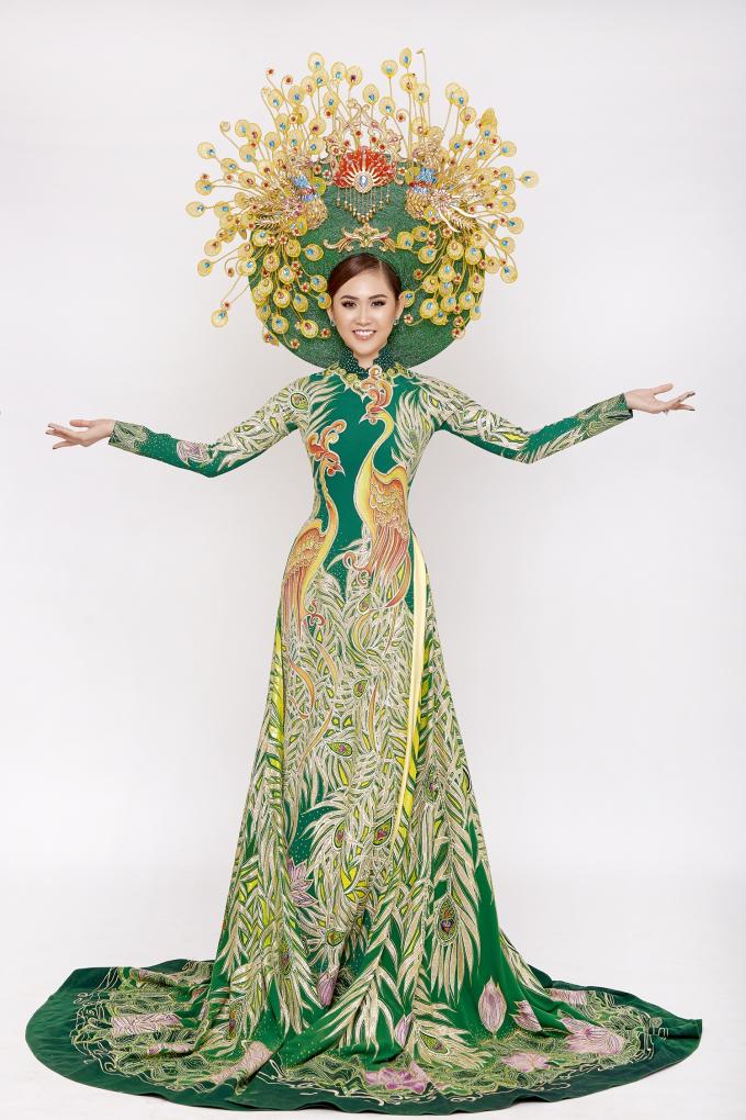 Trúc Ny khoe vẻ đẹp nóng bỏng, quyến rũ ngay khi vừa đăng quang Á hậu Miss All Nations 2019