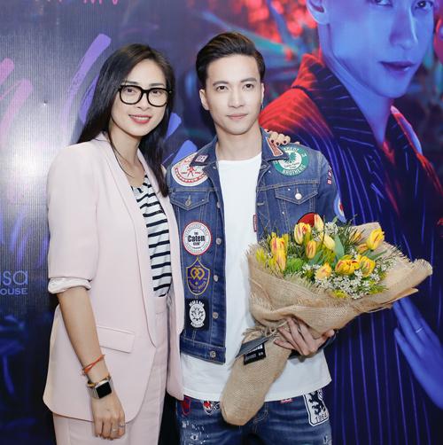 S.T và Ngô Thanh Vân.