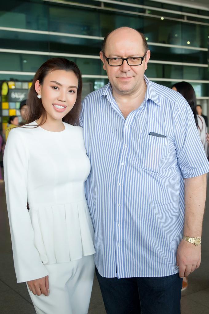 Hoa hậu nhân ái Mai Quỳnh.