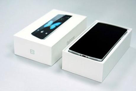Điện thoại Bphone 1 được ra mắt vào tháng 5/2015 của Bkav. Ảnh: CTV