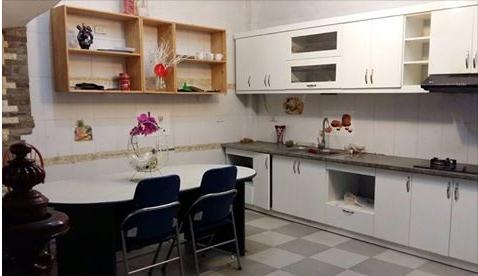 Khu bếp hiện đại và trang nhã.
