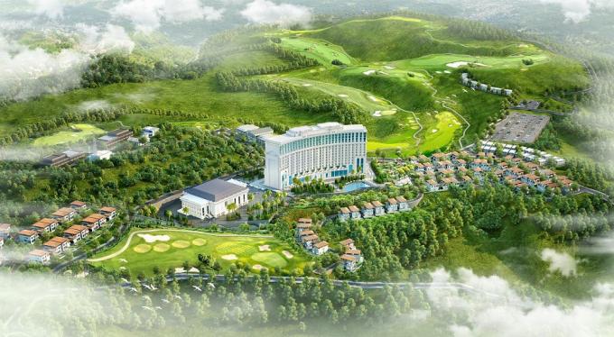 Quần thể du lịch nghỉ dưỡng FLC Hạ Long.