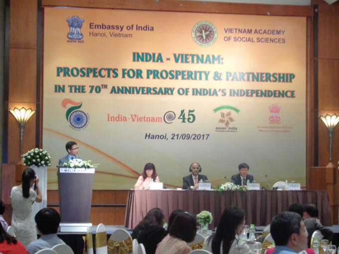 PGS.TS. Nguyễn Xuân Trung - Viện trưởng Viện Nghiên cứu Ấn Độ và Tây Nam Á phân tích về những hướng hợp tác phát triển mới cho mối quan hệ giữa Việt Nam - Ấn Độ.