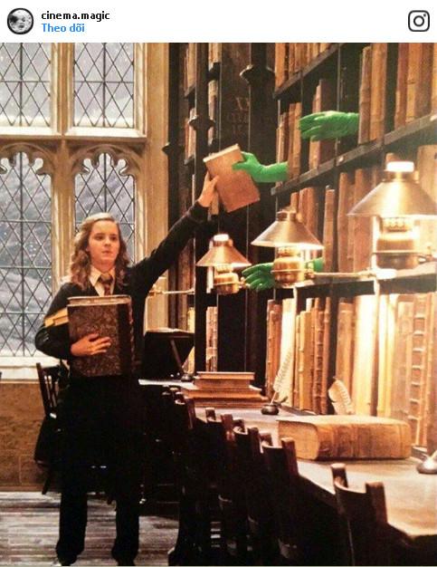 Đây là cách mà những cuốn sách trong seri phim Harry Potter có thể bay lượn.