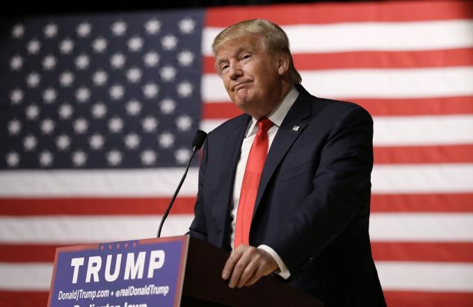 Trump từng bị đánh giá là ít khả năng tranh cử vì ông thiếu kinh nghiệm chiến trường.