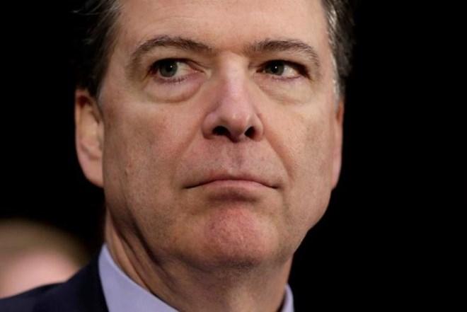 Cựu giám đốc Cục điều tra liên bang (FBI), ông James Comey.