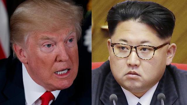 Tổng thống Mỹ Donald Trump (trái) và lãnh đạo Triều Tiên Kim Jong-un (Ảnh: AFP)