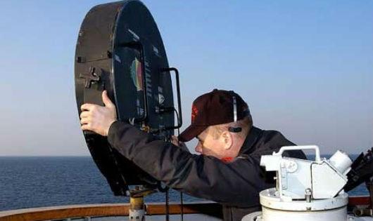 Vũ khí phi sát thương LRAD của Hải quân Mỹ.