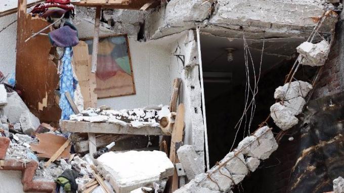 Thị trấn Sarpol-e Zahab, tỉnh Kermanshah, Iran là nơi có nhiều người chết nhất tại nước này trong trận động đất.