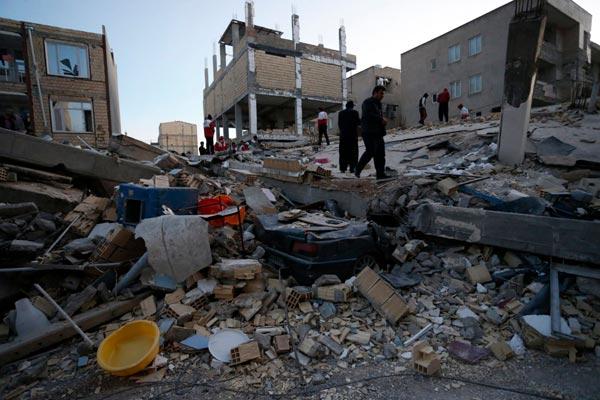 Theo các nhà báo của AFP, tâm chấn ở động đất chỉ ở độ sâu khoảng 25km và có thể cảm nhận trong vòng 20 giây tại Baghdad và lâu hơn tại các tỉnh khác của Iraq.