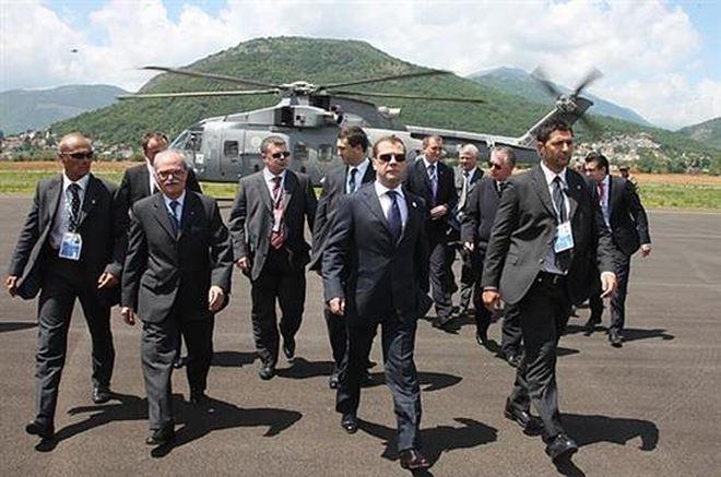 Đội bảo vệ thủ tướng Nga D.Medvđev