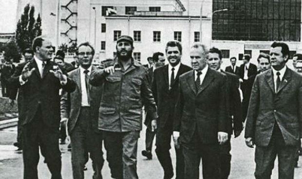Chủ tịch Fidel Castro thăm nước Nga