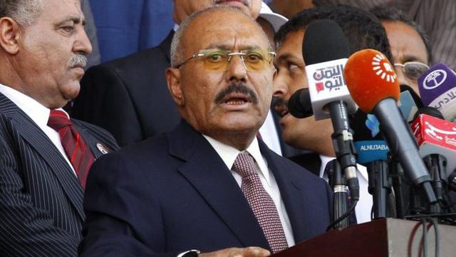 Cựu Tổng thống Yemen Ali Abdullah Saleh (Ảnh: EPA)