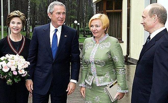 Cựu Tổng thống G.Bush thăm nước Nga