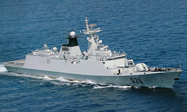 Một tàu hộ vệ Type 054A của Trung Quốc. Ảnh: Wikipedia