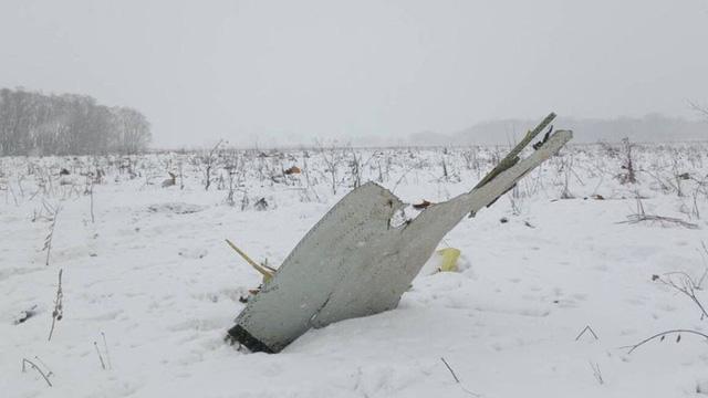 Xác máy bay gặp nạn (Ảnh: RT)