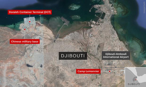 Djibouti có vị trí chiến lược quan trọng.