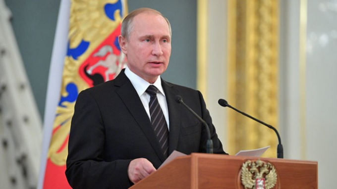 Tổng thống Nga Vladimir Putin. (Ảnh: Sputnik)