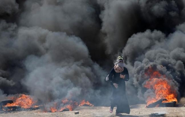 Biểu tình phản đối Mỹ mở Đại sứ quán tại Jerusalem, ít nhất 52 người Palestine thiệt mạng