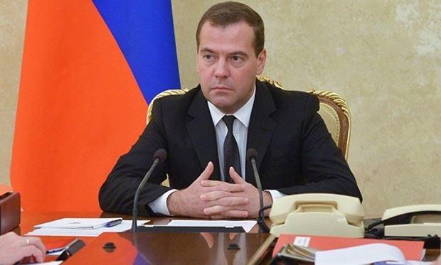 Thủ tướng Nga Dmitry Medvedev. Ảnh: Reuters