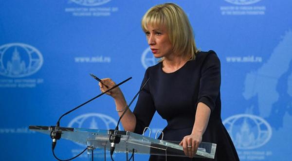 Phát ngôn viên Bộ Ngoại giao NgaMaria Zakharova. Ảnh:AFP.