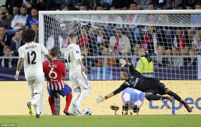 Koke chói sáng ấn định thắng lợi 4-2 cho Atletico ở hiệp phụ