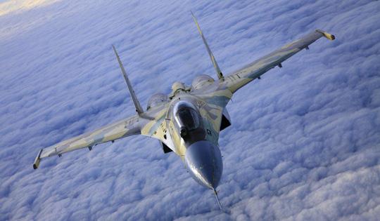 Chiến đấu cơ Su-35 của Nga. Ảnh: SCMP