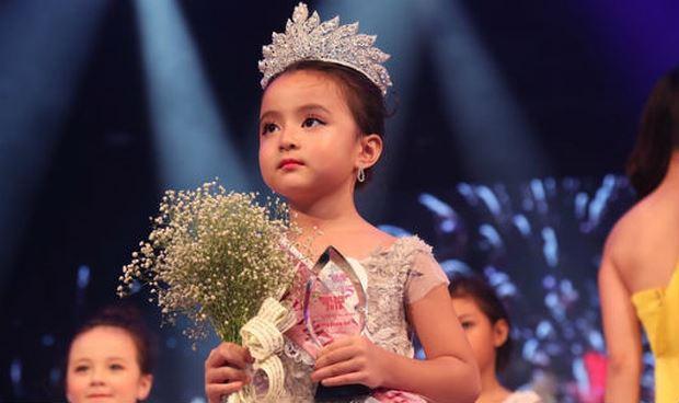 Cô bé 5 tuổi đăng quang Hoa hậu nhí Việt Nam 2018