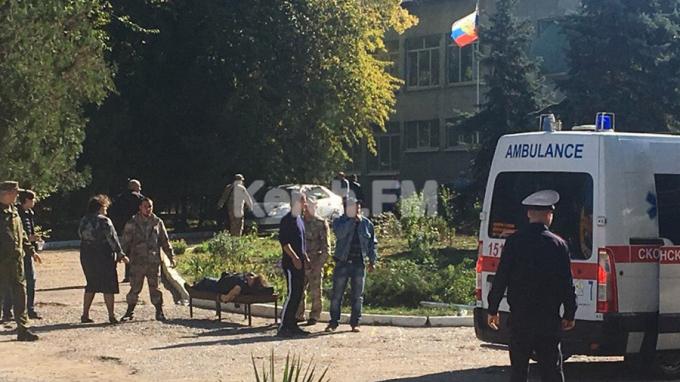 Đánh bom, xả súng ở trường học tại Crimea, 13 người thiệt mạng