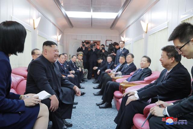 Bên trong chuyến tàu đặc biệt chở nhà lãnh đạo Kim Jong-un.