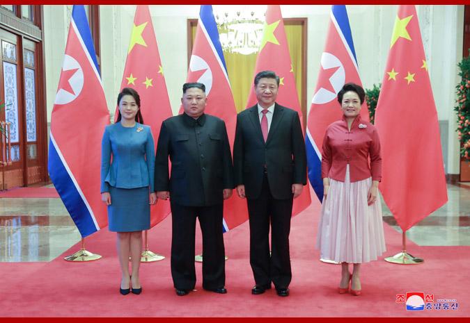 Tân Hoa Xã đưa tin Chủ tịch Tập Cận Bình và nhà lãnh đạo Kim Jong-un đã cùng nhau trao đổi về quan hệ song phương và các vấn đề nằm trong mối quan tâm chung. Hai nhà lãnh đạo cũng đạt được nhiều sự đồng thuận quan trọng.