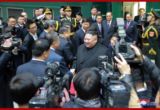Đây là chuyến thăm Trung Quốc đầu tiên và cũng là chuyến công du nước ngoài mở màn của ông Kim Jong-un trong năm 2019.