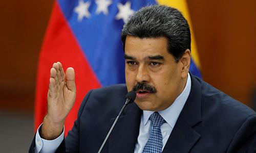 Tổng thống Venezuela Maduro. (Ảnh: Reuters)