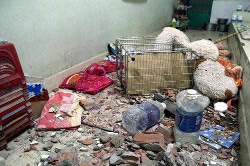 Trung tâm cai nghiện tan hoang sau khi bị hơn 500 người đập phá