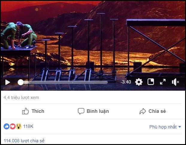 Hiện tại, trên trang fanpage của chương trình, clip tiết mục đêm chung kết của Cơ - Nghiệp đang đạt 4,4 triệu lượt xem, thu hút 118.000 lượt tương tác cảm xúc, 114.000 lượt chia sẻ, và rất nhiều bình luận...