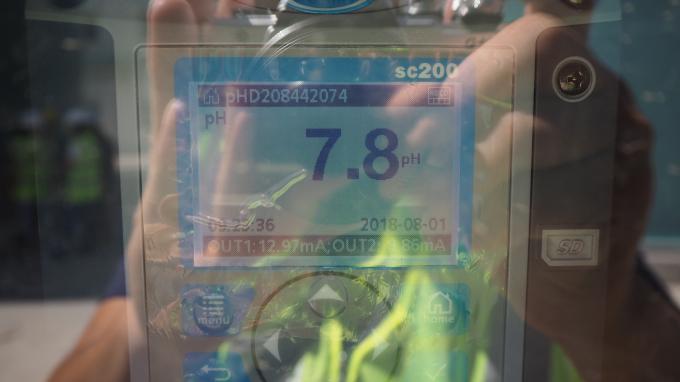 Các thông số pH trong khoảng từ 6 đến 9.