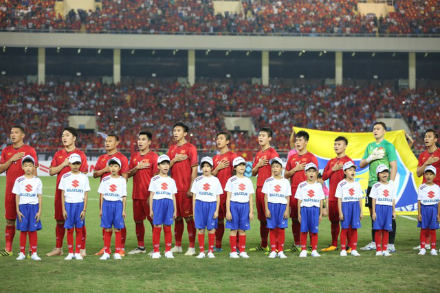 Đội hình ra sân ở bán kết lượt về AFF Cup của tuyển Việt Nam