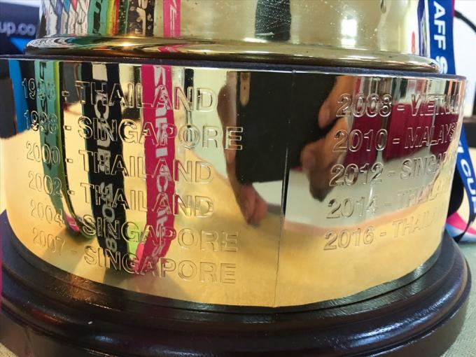 Nhà vô địch tiếp theo sẽ được khắc tên lên chiếc cúp này.