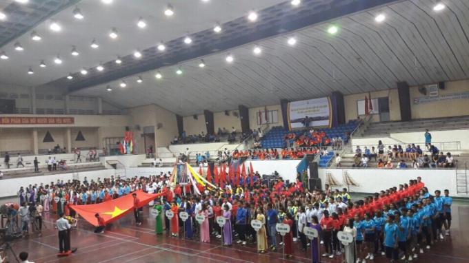Có 17 đoàn vận động viên, đại diện cho đồng bào dân tộc thiểu số của 17 tỉnh tham gia hội thi
