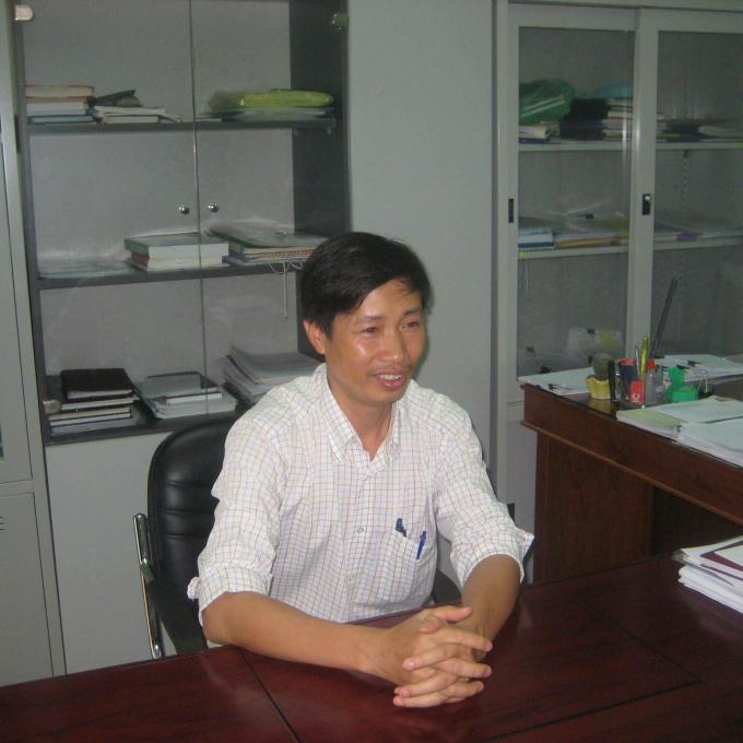 Ông Lê Huy Toàn - Chi cục trưởng Chi cục QLCLNL&TS Gia Lai, người chịu trách nhiệm chính trong vụ việc trên trong một lần làm việc với cơ quan chức năng (ảnh D.T)
