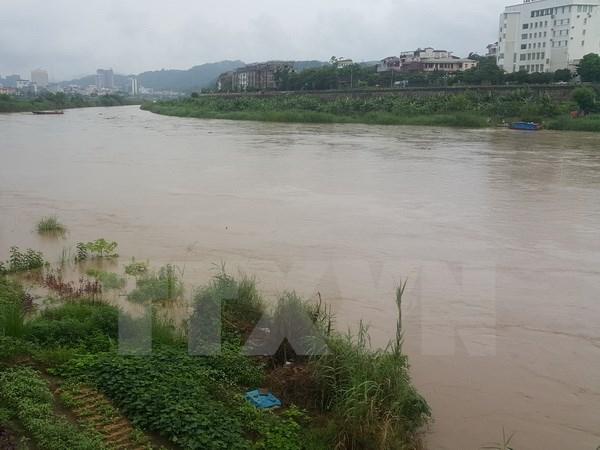 Nguy cơ cao xảy ra ngập úng ở vùng trũng thấp ven sông thuộc tỉnh Yên Bái, Phú Thọ. Ảnh: minh họa/Nguồn:Hương Thu/TTXVN