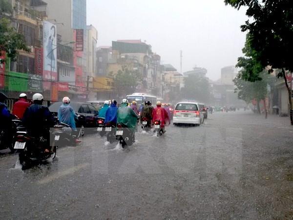 Từ đêm mai khu vực Hà Nội sẽ có mưa rào và giông vài nơi. Ảnh: minh họa/Nguồn: TTXVN