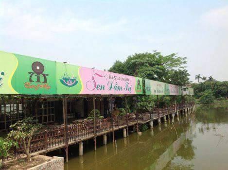 Nhà hàng sen Đầm Trịsố 2 Đặng Thai Mai - Tây Hồ - Hà Nội
