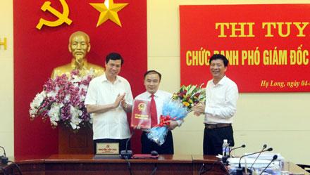 Tỉnh Quảng Ninh - một trong những đơn vị đầu tiên của cả nước thi tuyển chức danh lãnh đạo