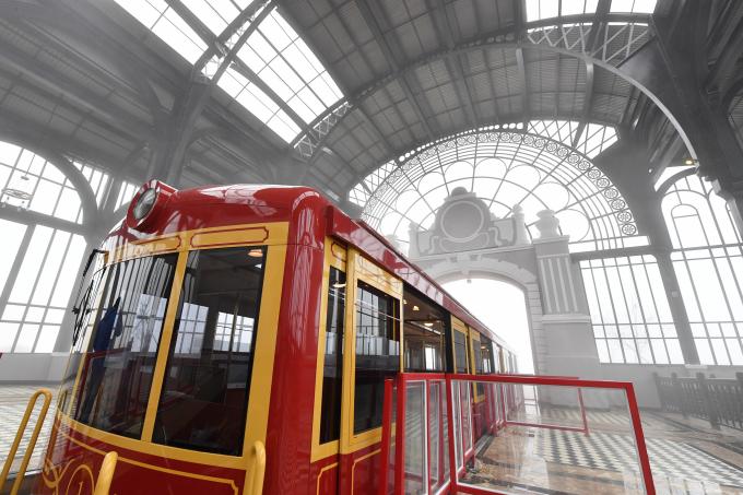 Nhà ga tàu hỏa leo núi Mường Hoa
