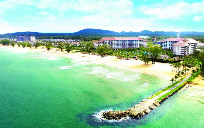 Một góc Vinpearl Phú Quốc Resort.